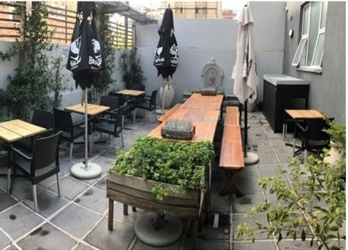 Restaurants with courtyard in Cape Town