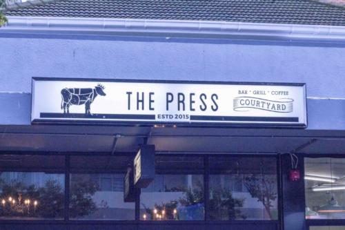 The Press from the street